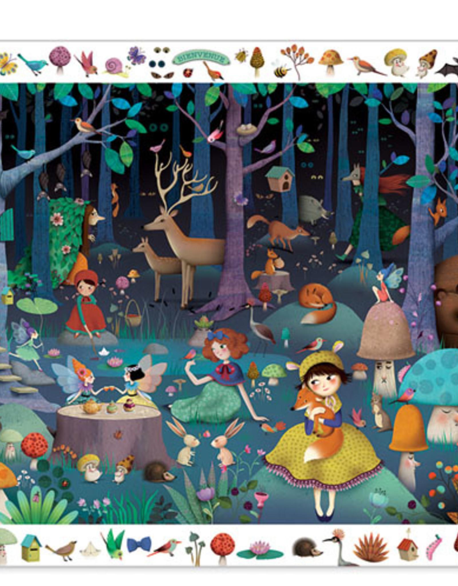 Enchanted Forest Observation Puzzle - 100 pcs