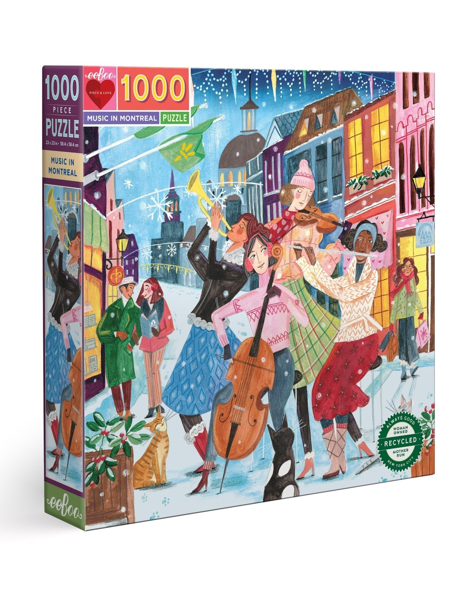 Music in Montreal 1000 Piece Puzzle