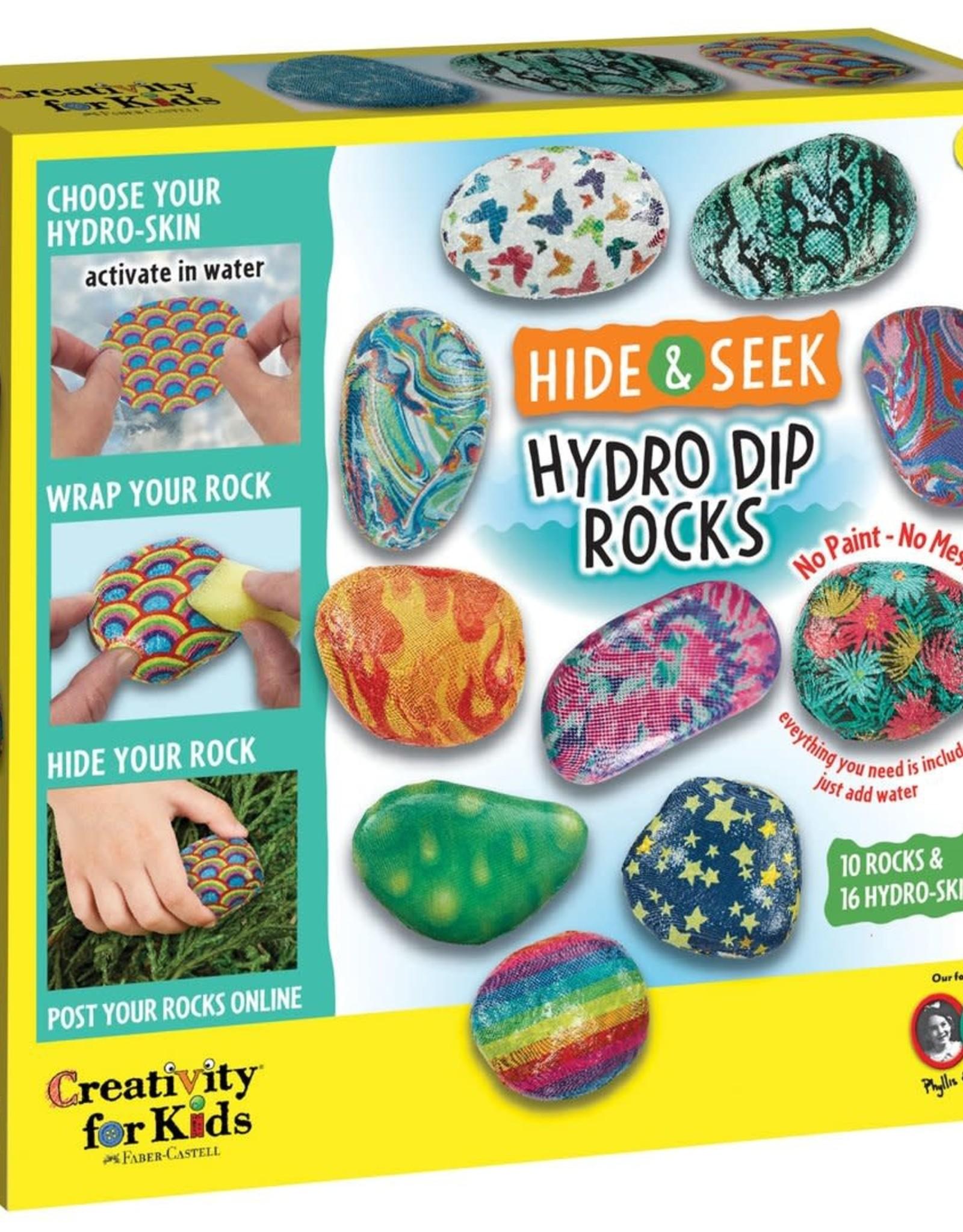 Hide & Seek Hydro Dip Rocks
