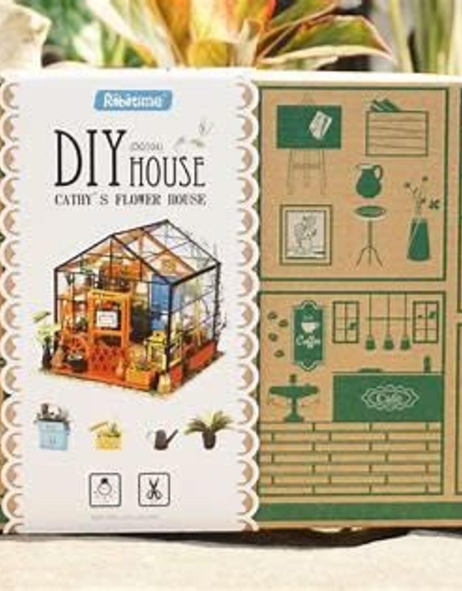 DIY Miniature Cathy's Flower House