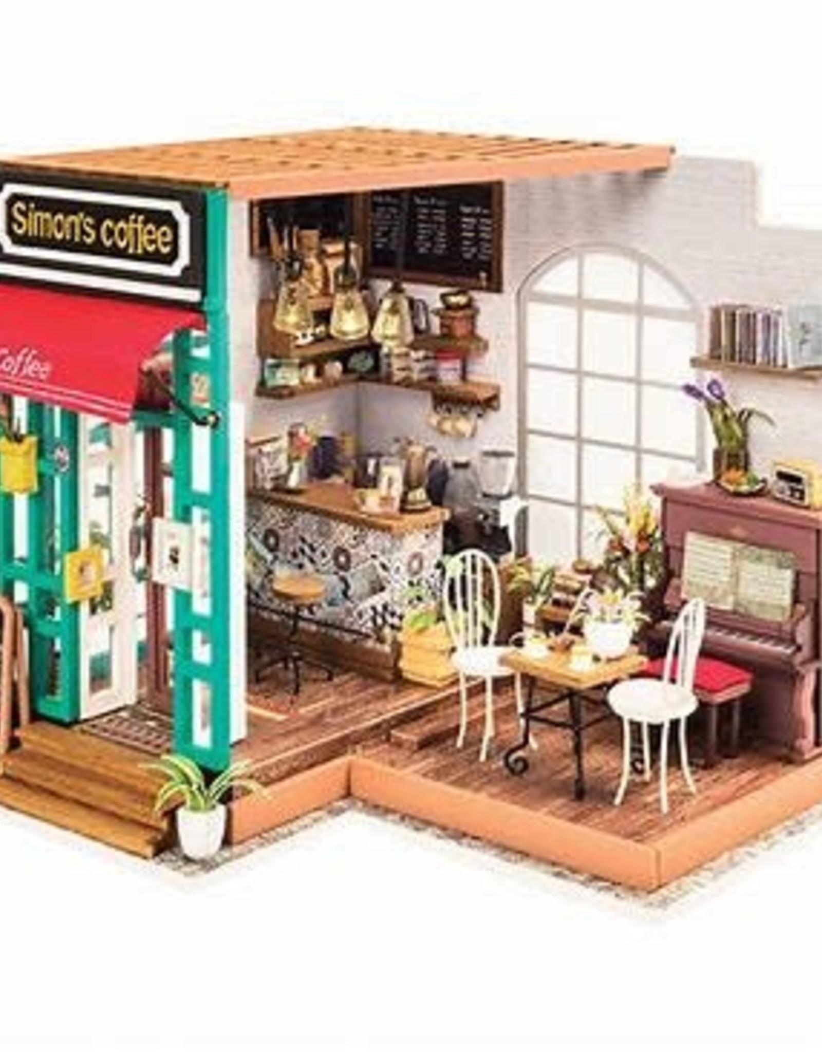 DIY Miniature House: Simon's Coffee Shop