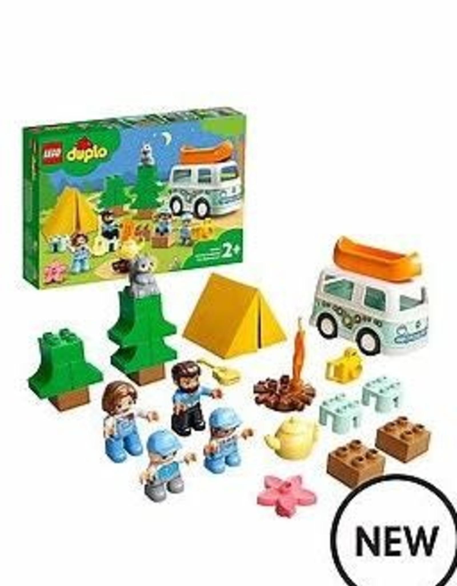 DUPLO Family Camping Van Adventure