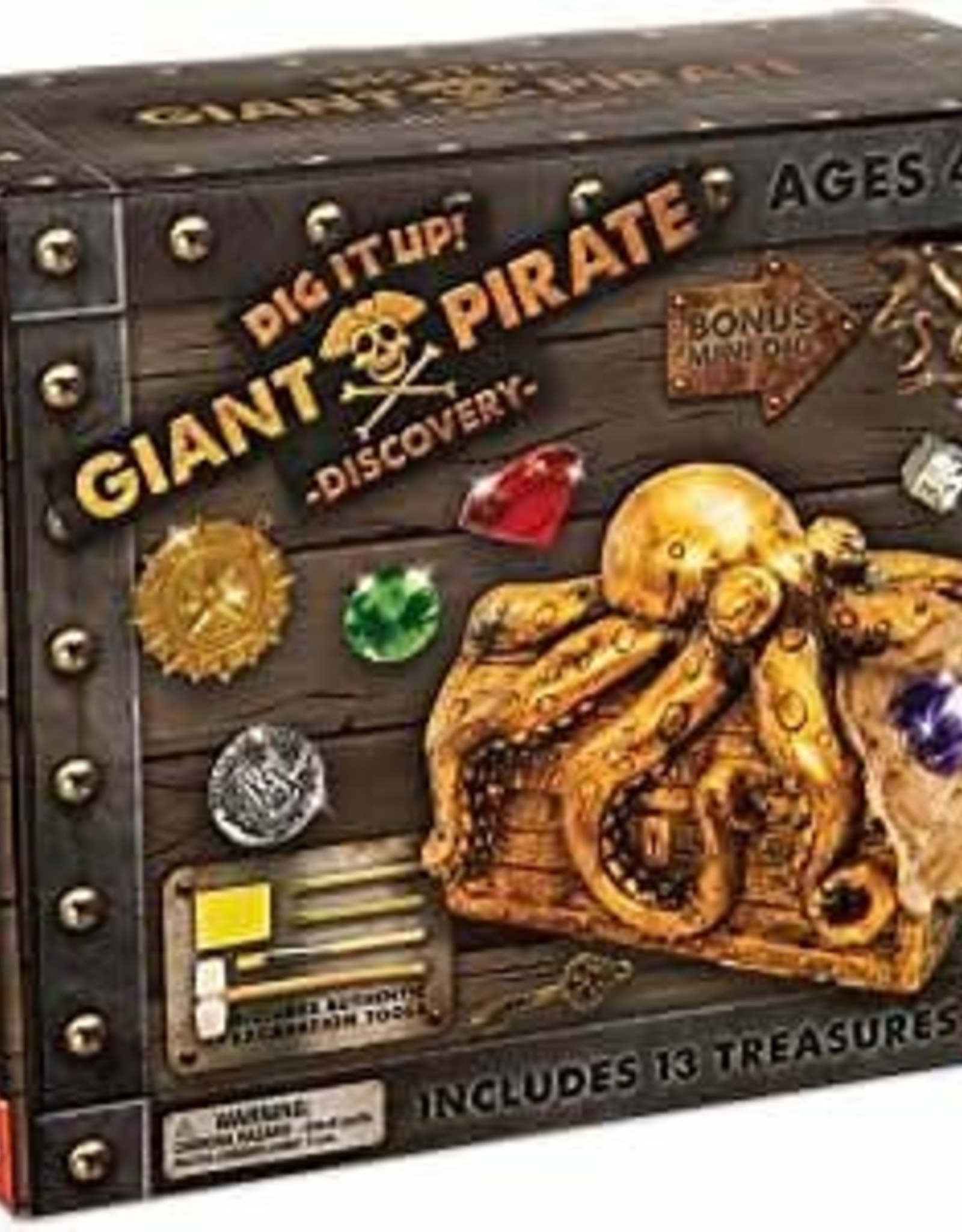 Dig It Up! Giant Pirate Discovery