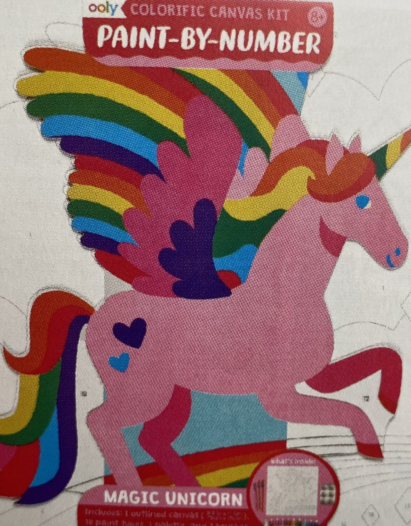 Colorific Canvas Kit Paint by Number - Magic Unicorn