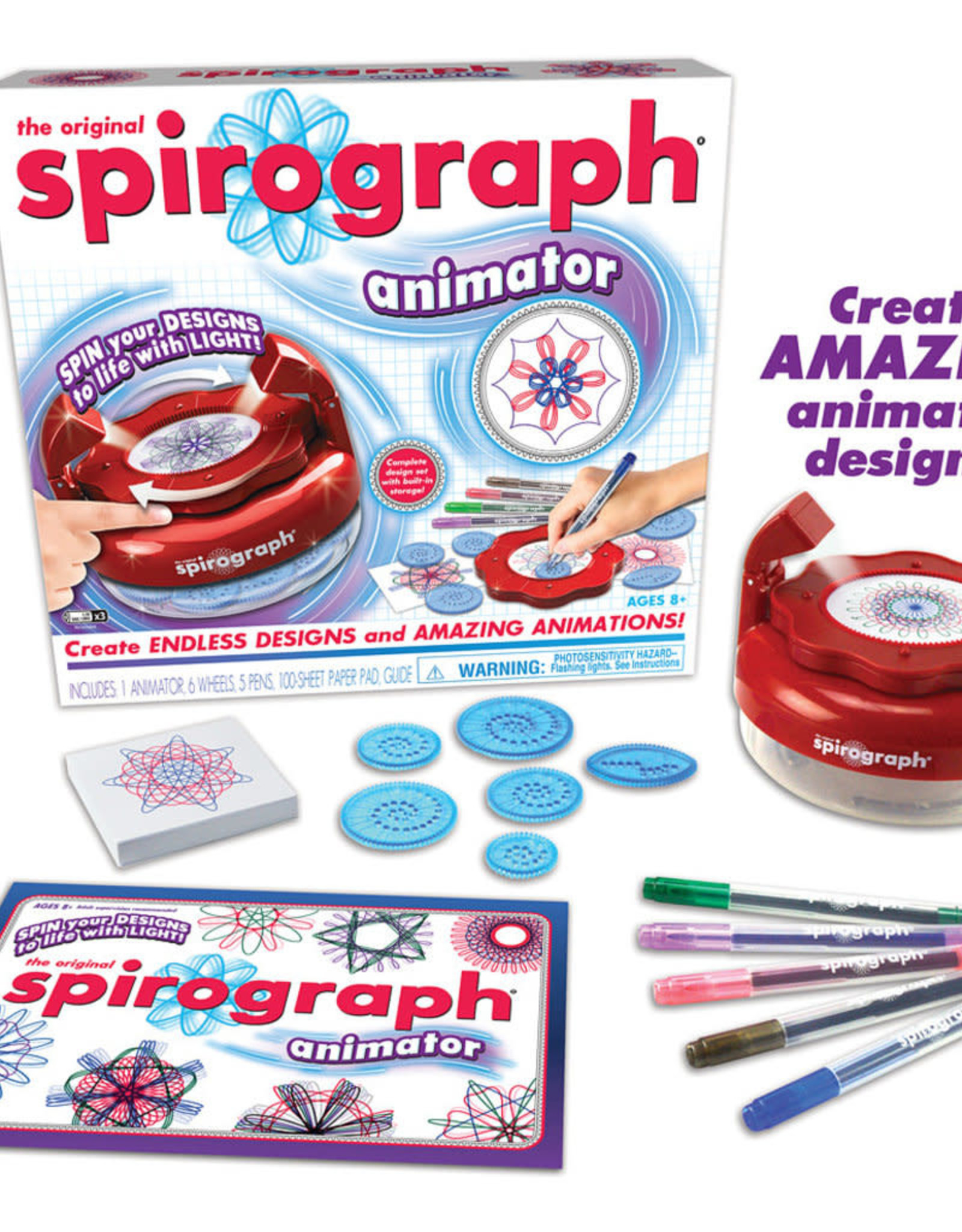 The Original Spirograph® Animator