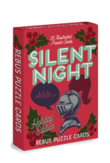 Silent Knight/Peas on Earth Holiday Edition Rebus Puzzle Cards