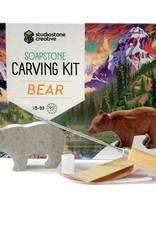 Soapstone Carving Kit - Bear