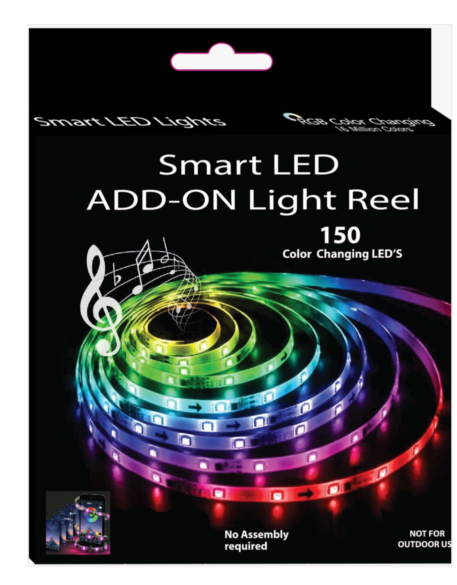 Smart LED Add-On Reel - 150 Color Changing LED's