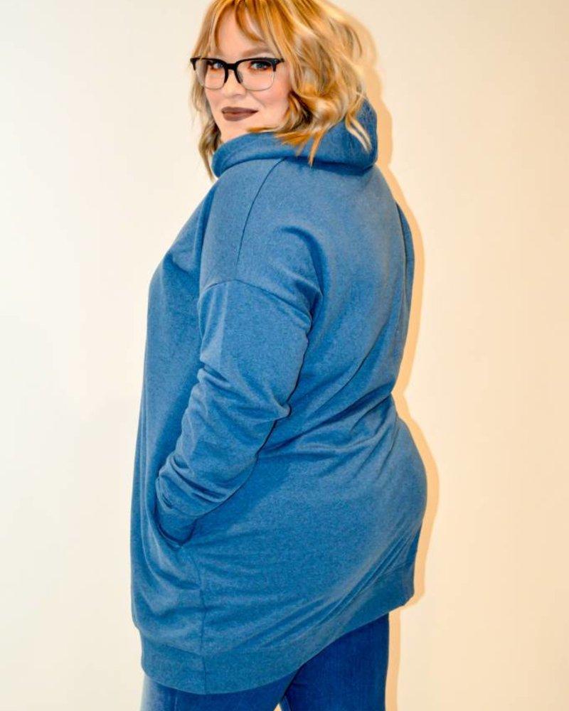 Lackadaisical Oversized Hoodie
