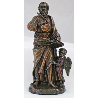 St. Matthew  Cold-Cast Bronze  8""
