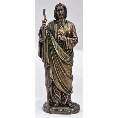 Saint  Jude Cold Cast Bronze