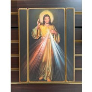 Divine Mercy Wall Plaque 15x11