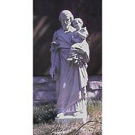 St. Joseph & Child Jesus w/ Cross, 38""