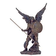 """St. Raphael Statue, Cold Cast Bronze 9"""""""