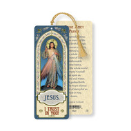 Divine Mercy, Laminated Bookmark W/T