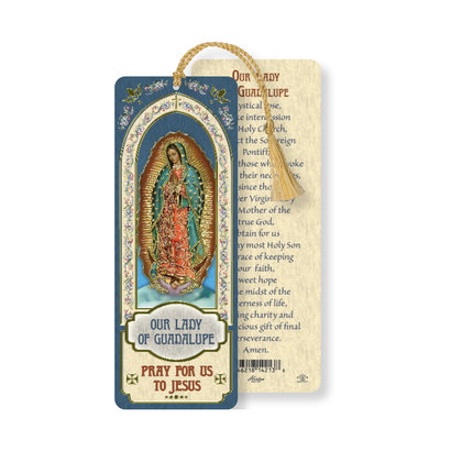 OL of Guadalupe, Laminated Bookmark W/T