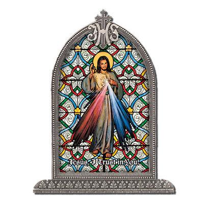 Divine Mercy, Textured Italian Art Glass