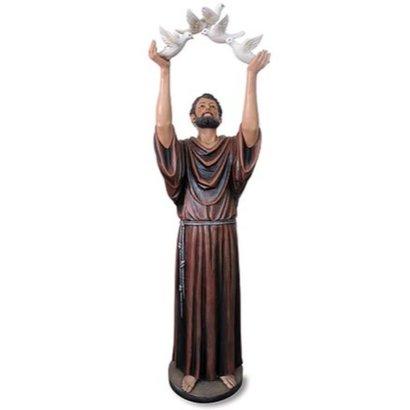 "St. Francis Statue, 48"""