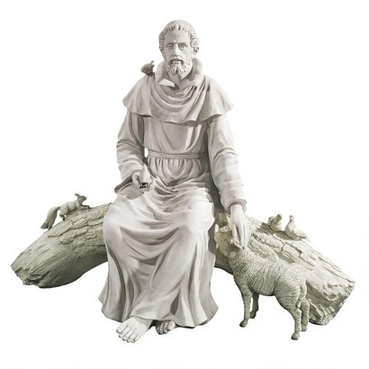"""St. Francis Outdoor Statue, 42"""""""
