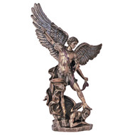 St. Michael, Cold-Cast Bronze l4.75""