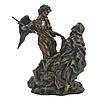 "Ecstacy St. Teresa of Avila, Cold Cast Bronze 8.5"" Statue"