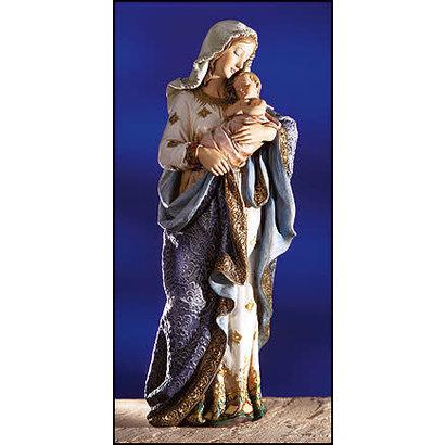 "Madonna & Child Statue, 23 1/4"""