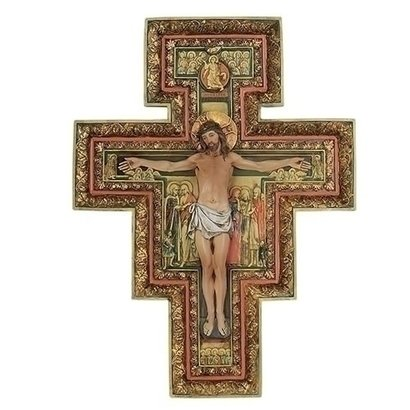 "San Damiano Crucifix, 17 3/4"""
