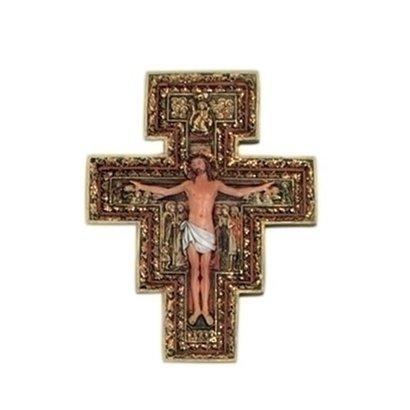 "San Damiano Crucifix, 6"""