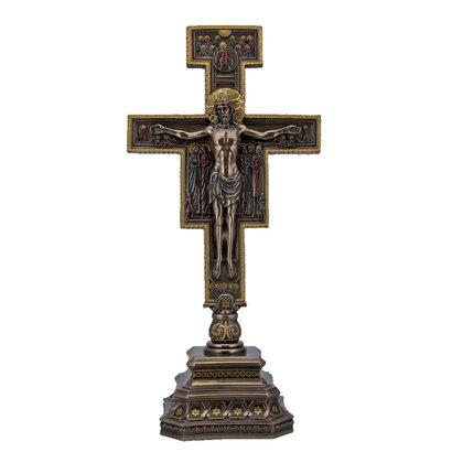 """San Damiano Crucifix, 14""""x7"""""""