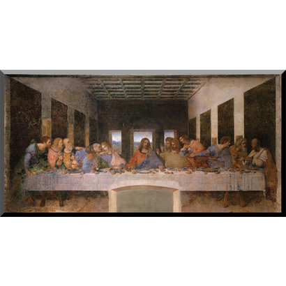 Last Supper Wood Plaque, 8x16