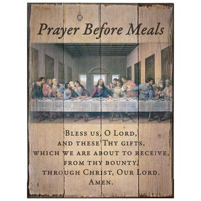 Last Supper Wood Plaque, 8x10