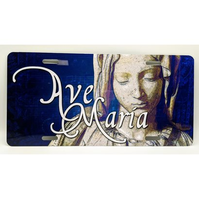 Ave Maria License Plate