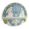 Annunciation, 18x14 1/2
