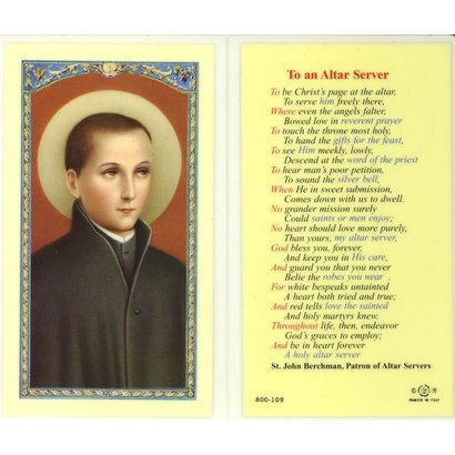 Saint John Berchman