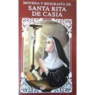 Novena Y Biografia De Santa Rita De Casia