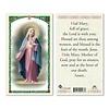 Hail Mary Prayer Holy Card