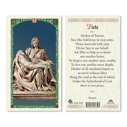 Pieta - Mother of Sorrow Holy Card