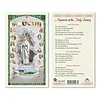 Mysteries of the Holy Rosary Holy Card