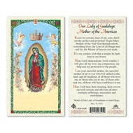 Mother of the Americas OLG Holy Card