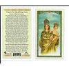 Our Lady of Prompt Sucor Holy Card