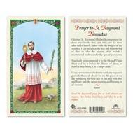 St. Raymond Nonnatus Holy Card