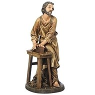 St. Joseph the Worker, 17 3/4""