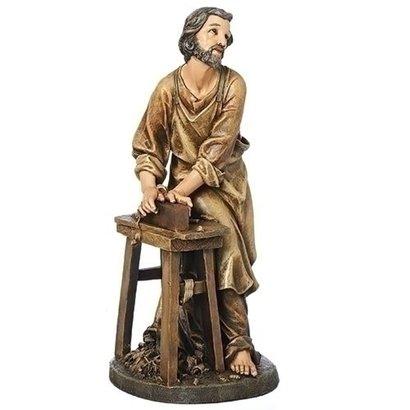 "St. Joseph the Worker, 17 3/4"""