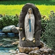 Our Lady of Lourdes in Grotto, 36""