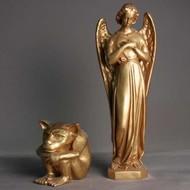 Fiberglass Finish: Antique Gold - Indoor