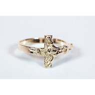 Crucifix Ring, 14 kt Solid Gold