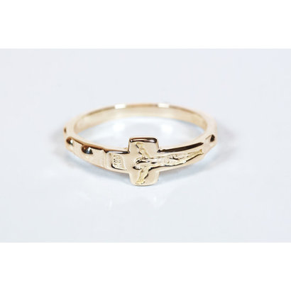 Rosary Ring, 14 kt Solid Gold