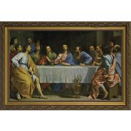 Last Supper by Champaigne, Canvas, 40x60