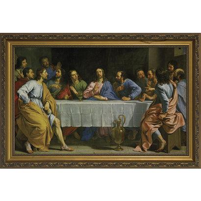 Last Supper by Champaigne, Canvas