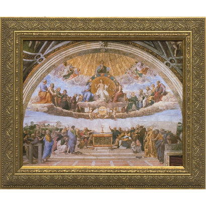 Disputation of the Holy Eucharist, Canvas